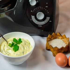 Рецепт приготовления настоящего майонеза в кухонной машине