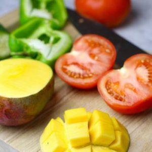 Гаспачо из манго
